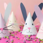 DIY Bunny Party Hats by The House that Lars Built