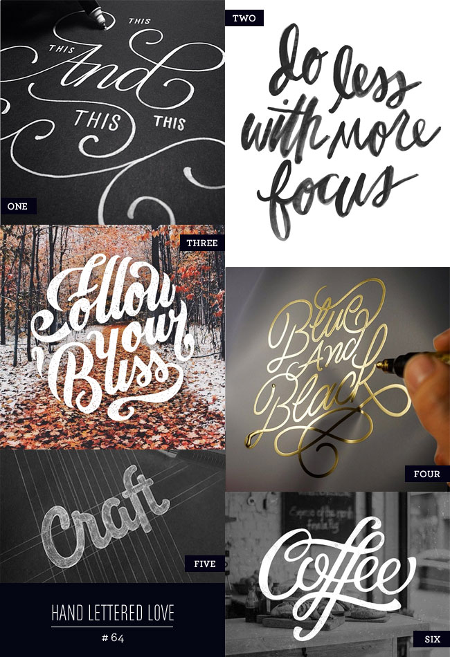 Hand Lettered Love #64