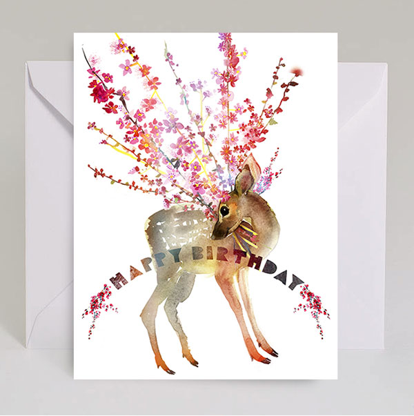 masha d yans spring inspired watercolor cards   paper crave