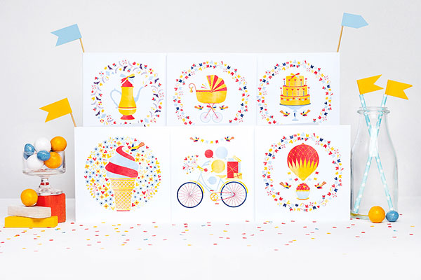 The Art of Living Card Collection by Kata Kiosk