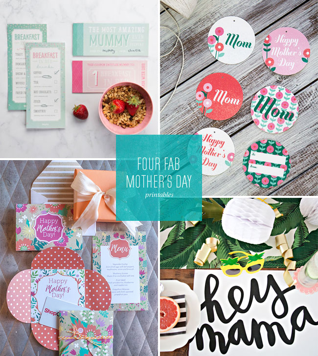 4 Fab (and Free!) Mother's Day Printables