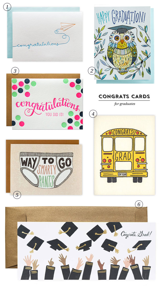 Graduation Congratulations Cards #1