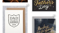 Typographic & Hand Lettered Father's Day Cards