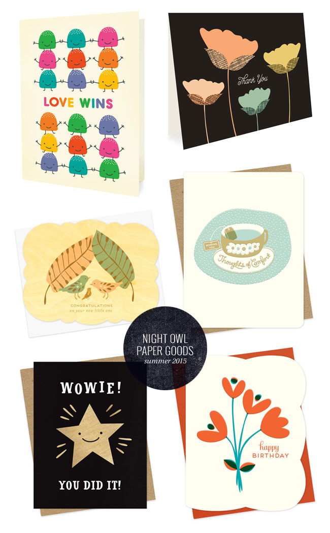 Night Owl Paper Goods New Summer Releases