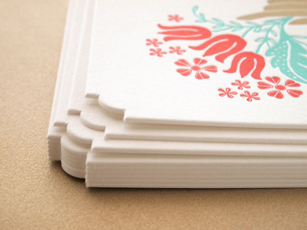 Missive Deluxe Greetings Letterpress Cards