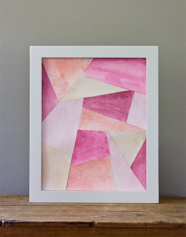 Online Skillshare Class - Faceted Paper Art : Create a Geometric Art Piece http://skl.sh/1JkRuyy