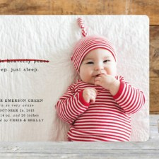 Funny Holiday Birth Announcements by Erin Wilson