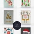 Elum Letterpress Christmas & Holiday Cards