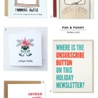 Fun & Funny Holiday Cards