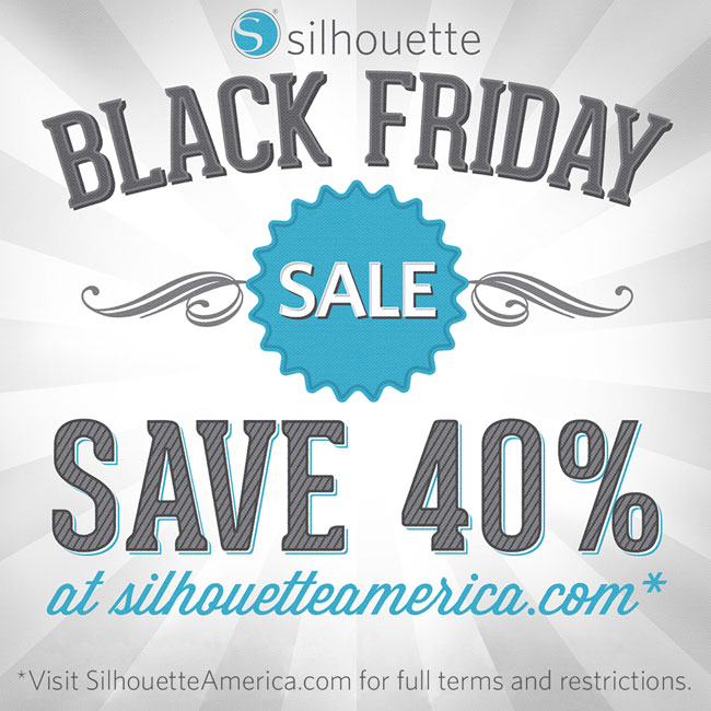 Silhouette America Black Friday Sale