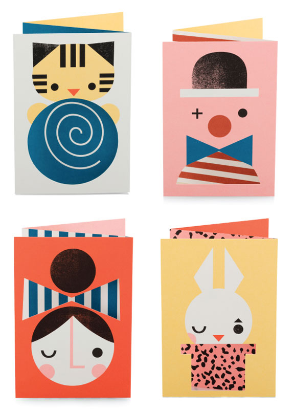Z-Fold Greeting Cards by Darling Clementine