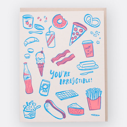 Irresistible Card by Hello! Lucky