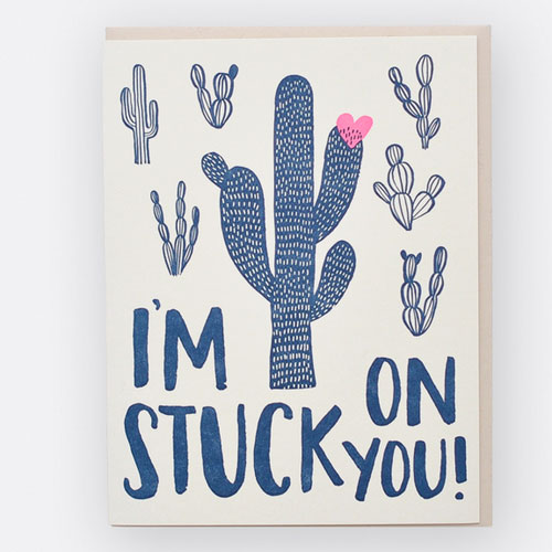 Stuck on You Card by Hello! Lucky