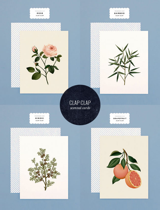 Scented Cards from Clap Clap Design