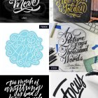 Hand Lettered Love #135