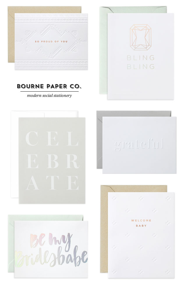 Bourne Paper Co. Stationery