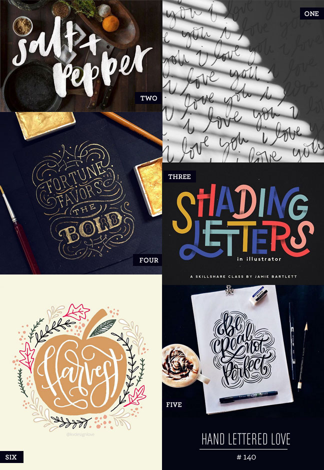 Hand Lettered Love #140