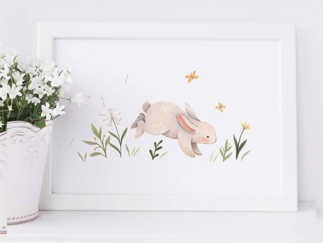 Illustrated Art Prints by Nina Stajner