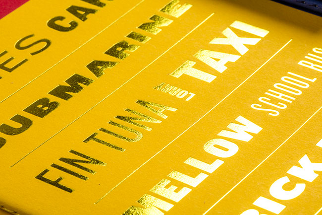 The Colour of Things Notebook - Yellow