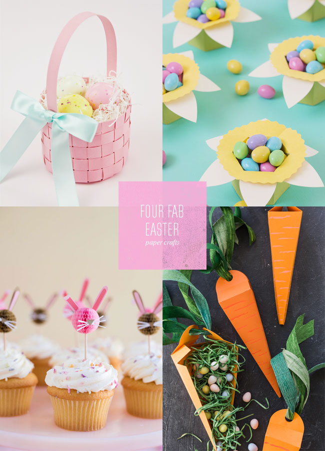 4 Fab Easter Paper Craft Ideas