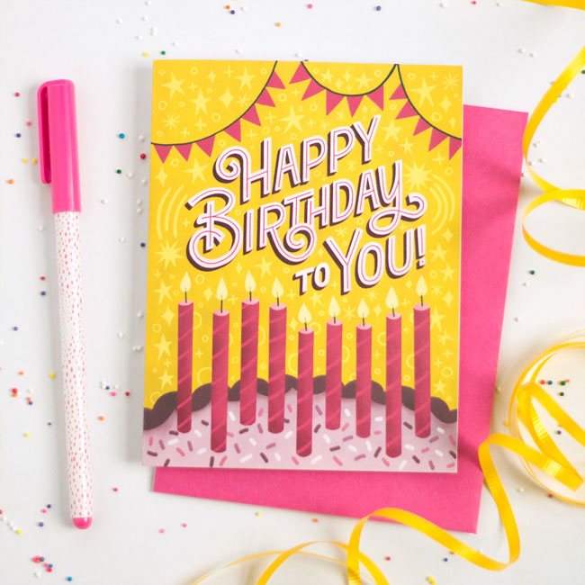 Happy Birthday to You Card from Home Again Creative