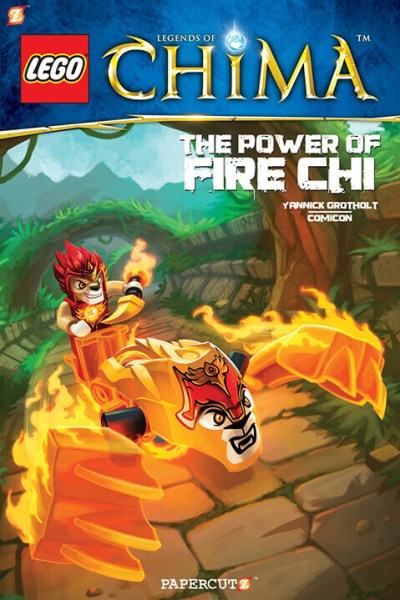 LEGO LEGENDS OF CHIMA COVER 4