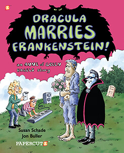 Dracula Marries Frankenstein Cover