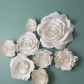Paper flower wall decor by PaperFlora
