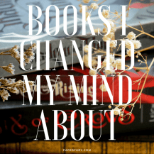 changed my mind books