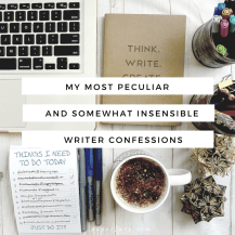writer confessions
