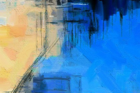 papers.co ai15 paint art blue illust diet abstract 2