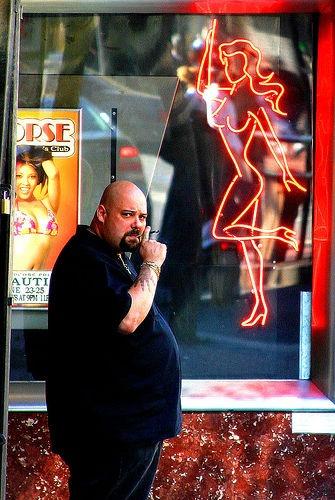Strip Club Bouncer