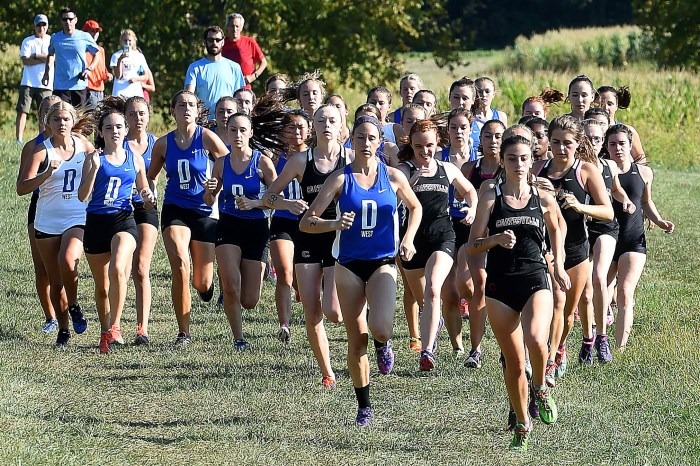 DLN-area Cross Country Wrap: Downingtown West, Coatesville split dual meet