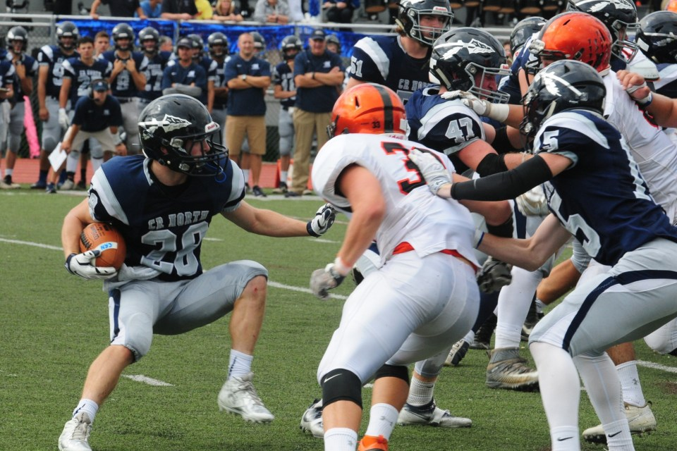 Council Rock North football tops Pennsbury for first time in many years (VIDEOS)