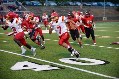 Just a sophomore, the ability of Haverford quarterback Jake Ruane to post a 2,000-yard passing season is a significant achievement. (For Digital First Media/Paul Bogosian)