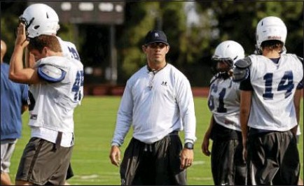 Episcopal Academy coach Todd Fairlie, who like Cardinal O'Hara's B.J. Hogan tutored at the Widener Way under former Pride coach and current Ridley High coach Dave Wood.