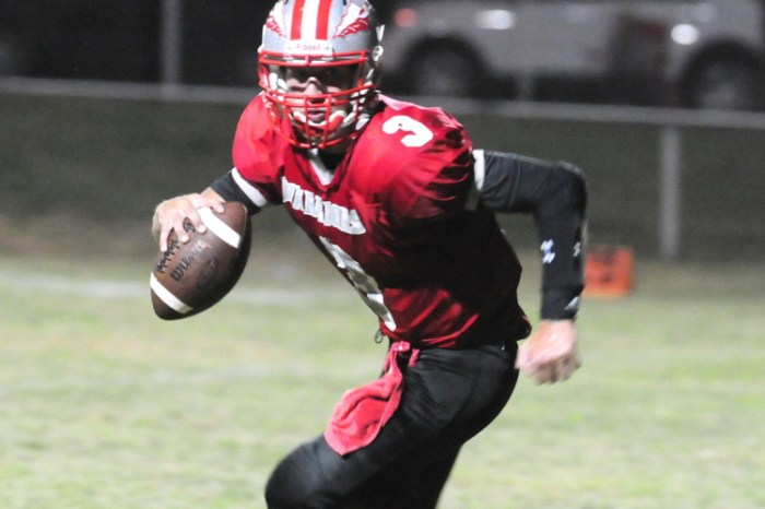 Bristol football nipped by Valley Forge Military Academy in District 1/12 semifinal