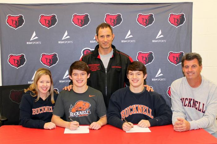 Boyertown's Campbell twins commit to Bucknell University