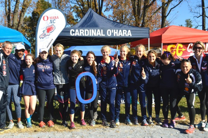 Kennedy's vocal chords help Cardinal O'Hara to PIAA cross country title