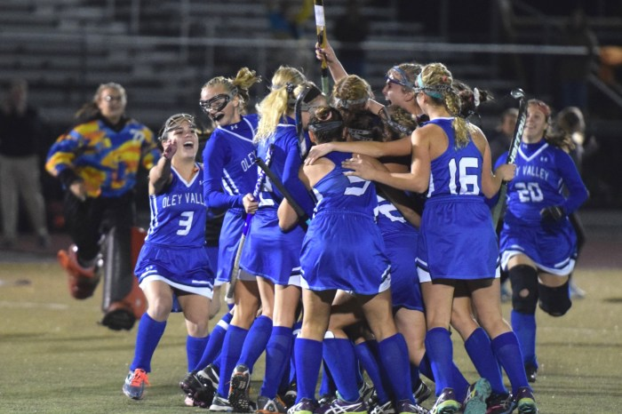 Oley Valley rebounds in second half, tops Lake Lehman for Class A title berth