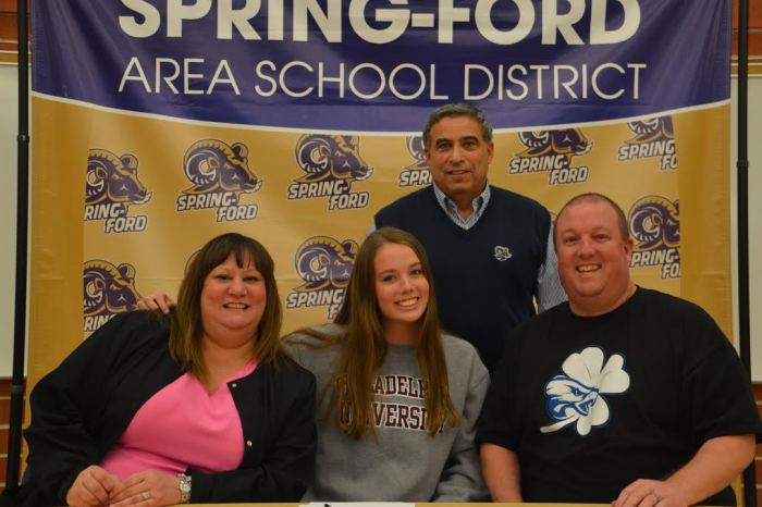 Spring-Ford's Maddie Haney signs with Philadelphia University