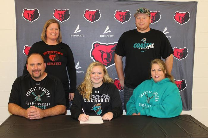 Boyertown's Heimbach selects Coastal Carolina