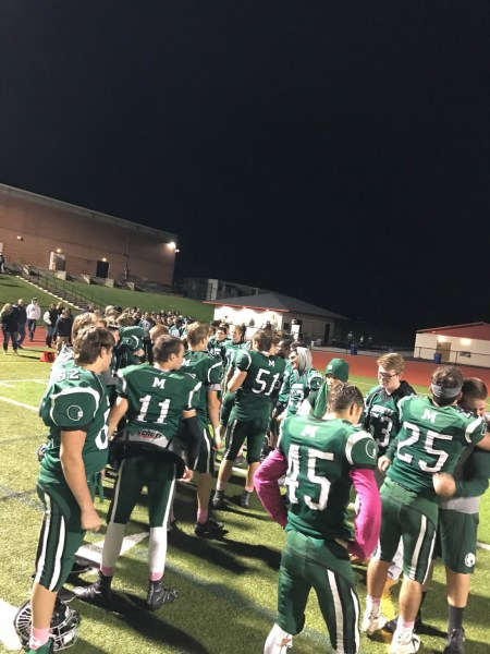Methacton football senior ceremony