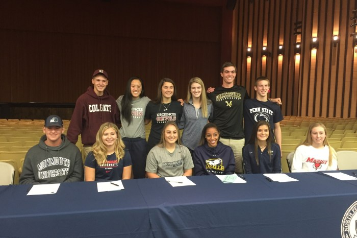 Twelve North Penn seniors sign letters of intent