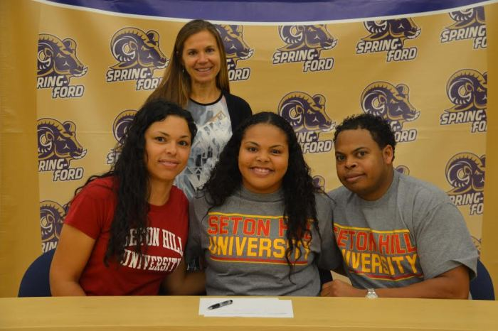 Spring-Ford's Kamille Ward signs on with Seton Hill