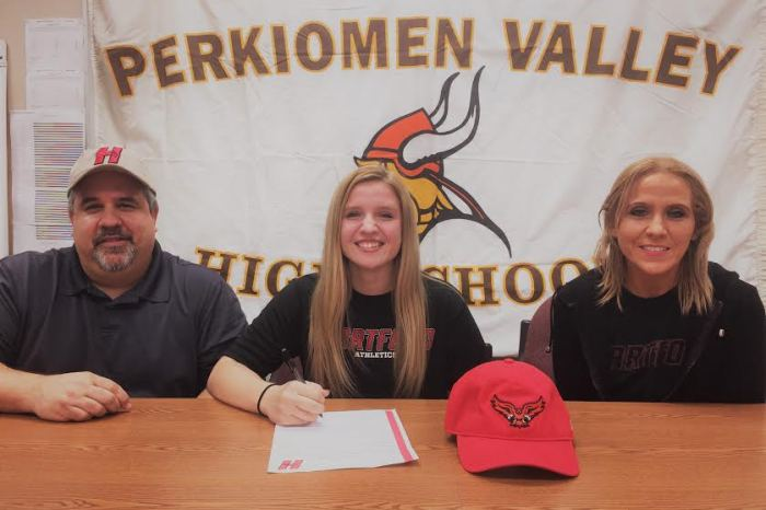 Perkiomen Valley's Jenna Pupillo signs on with University of Hartford