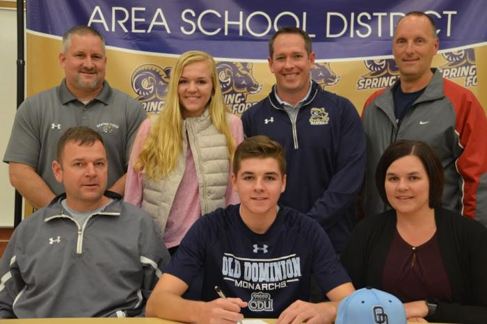 Spring-Ford's Ryne Moore commits to Old Dominion