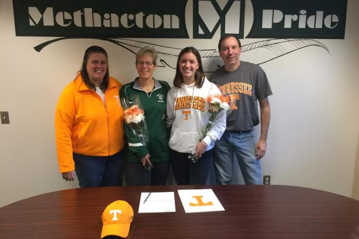 Methacton's Emily Sykes selects University of Tennessee