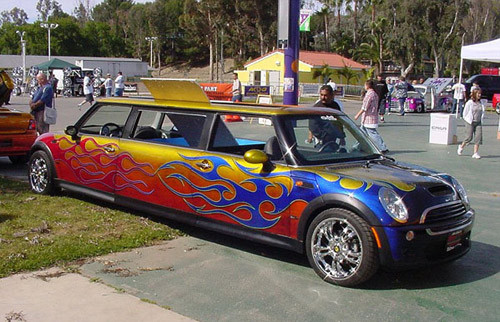 Weird limo: Mini Cooper goes Maxi