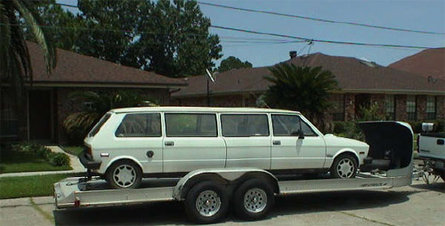 Weird limo: Yugoslavian stretch
